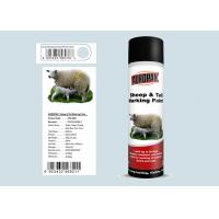 SGS Certificated Marking Spray Paint , Livestock Marking Paint Refrigerator White Manufactures