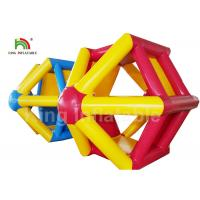 EN71 Combo Color Water Wheel Inflatable Water Roller For Water park Manufactures