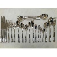 Quality Stainless Steel 304# Flatware Sets Of 20 Pieces Steak Knife Dinner Fork Serving for sale
