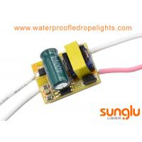 China 4 - 7W Isolated LED Bulb Driver , AC 220V 4w Constant Current LED Driver on sale