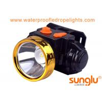 Buy cheap White color  Miner Lamp Lithium Battery  Ffishing Lamp Working time 10hours from wholesalers