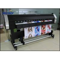 Quality Epson Eco Solvent Printer With DX5 / DX7 / DX10 / XP600 Print Head, Epson Eco Ink Printer for sale