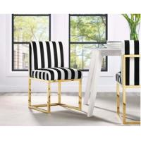 Quality Stainless Steel Gold Wedding Reception Chairs Paris Design Custom Made for sale
