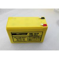 Quality 6FM9H F250 12Volt 9AH High Rate Discharge Battery Maintenance Free Lead Acid for sale