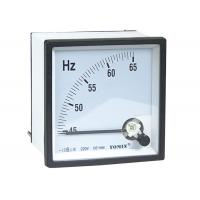 High Precision Panel Analogue Meter , Frequency Meter With Glass Window Manufactures