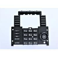 Custom Made Silicone Numeric Keypad For Industrail Machine SGS ITAF Approval Manufactures