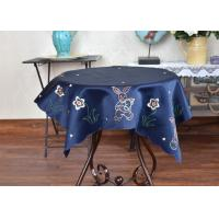 Unique Square Decorative Table Cloths Chemical Fiber Multiple Colors Embroidered Manufactures