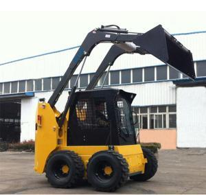 High Output Front End Loader Machine 950KG Rated Load Skid Steer Loader Manufactures
