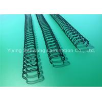 """Quality Black 3/8 """" Double O Wire Binding For Bound Pages 360 Degree Rotation for sale"""