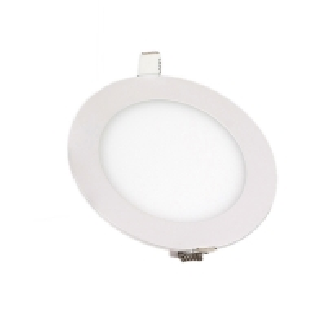 Recessed -15 Celsius 5500k LED Round Flat Panel Light Manufactures