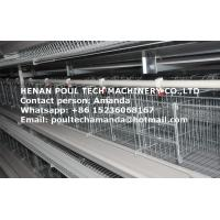 Chicken Farm Breeding Equipment - Hot Galvanized Cage H Frame Battery Laying Egg Chicken Coop &Hen Cage in Poultry Coop Manufactures