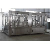 160-200 BPM water automatic liquid bottle filling machine CE certification Manufactures