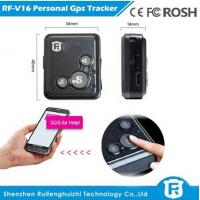 Very small size mobile phone personal gps tracker senior phone gps track phone number RF-V16 Manufactures