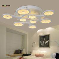 Remote control Living room bedroom modern led ceiling lights luminarias para sala dimming led ceiling lamp deckenleuchte Manufactures