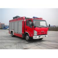 Buy cheap Professional 3 Seat Light Rescue Fire Trucks 139kw With ISUZU Chassis from wholesalers