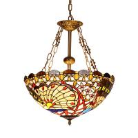 Buy cheap Tiffany inverted pendant ceiling lights for indoor home Lighting Fixtures (WH-TF from wholesalers