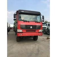 Sinotruck HOWO 6x4  Heavy Duty Dump Truck With 10 Tyres 340HP Engine Manufactures