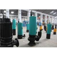 WQ series cast iron or stainless steel sewage submersible pump Manufactures