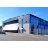 Gable Symmetrical Steel Structure Hangar Special Design With Huge Entrance Door Manufactures