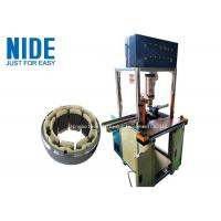 Auto BLDC Motor Stator Insulation Board / Aluminium Alloy Color or Customized End Plate Pressing Machine Manufactures