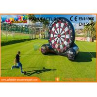China School Or Backyard Inflatable Sports Games / Inflatable Soccer Dart Board on sale