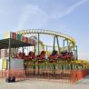 Funfair Rides Carnival Rides Amusement Park Equipment Crazy Mouse Roller Coaster Manufactures