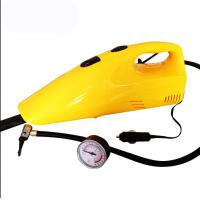 35w - 60w Yellow Handheld Car Vacuum Cleaner With Compressor Function Manufactures