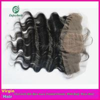 8A Peruvian virgin hair silk lace frontal 13''x4'' ,natural color body wave 10''-24''. Manufactures