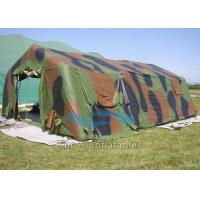 Fire Proof Army Tunnel Military Inflatable Tents Customized For Camping Manufactures