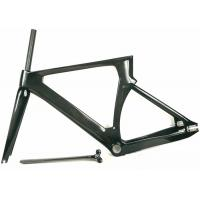 Quality Toray 700 Aero Full Carbon Track Bike Frame 700C BSA Matte And Glossy for sale