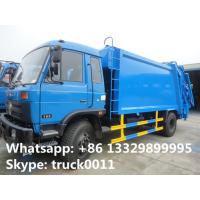 2017s best price dongfeng 12cbm garbage compactor truck for sale, hot sale dongfeng refuse garbage truck for sale Manufactures