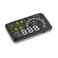 Engine Fault Alarm Wireless Heads Up Display W02 , Android Hud Display PC + ABS Material Manufactures