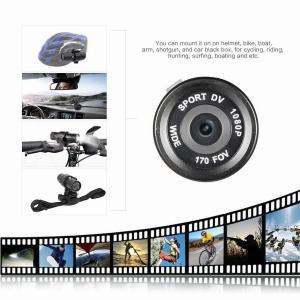 Buy cheap HD 1080P Video DV Gun Clip Mount Bike Helmet Sport Action Camera Camcorder DVR from wholesalers