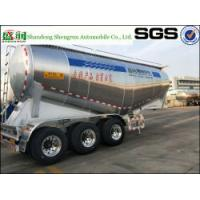 Shengrun Mnufacturer Aluminum Bulker Trailer Bulk Semi Trailer 3 Axle Cement Tanker with High Quality Manufactures