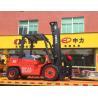 Effective Diesel Powered Forklift , High Reach Forklift3000kg Loading Capacity Manufactures