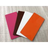 Various Colors ACP Aluminium Sheet High Intensity With Weather Resistance  Manufactures