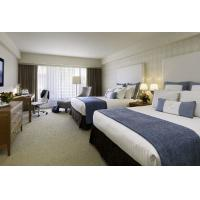 Quality Deluxe Hotel Room Furnishings , King Size Hotel Guest Room Furniture In PU for sale