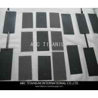 MMO Coated Titanium Anode and Cathode for Swimming Pool Water Treatment Manufactures