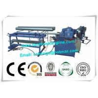 Industry Orbital Tube Welding Machine , Spiral Duct Making And Forming Production Line Manufactures