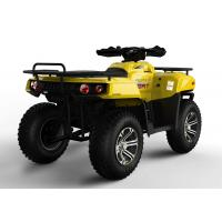 Yellow Shaft Drive EEC Racing ATV 400CC With Double Foot Pedal Manufactures
