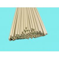 Chemical Resistance PEEK Rods Khaki For Bushes / Metering Pumps Manufactures
