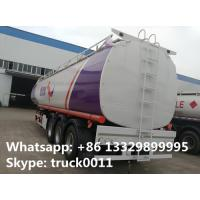 Buy cheap CLW brand triples axles 50,000L oil tank trailer for sale, factory sale BPW/FUWA from wholesalers