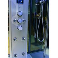 Quality Durable Walk In Steam Shower Cubicle , Jacuzzi Steam Shower Cabins With Seat for sale
