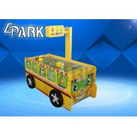 Cute Bus Appearance Kids Sports Air Hockey Table / Amusement Arcade Game Machine Manufactures