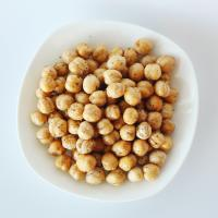 Healthy Snacks High Nutrition Roasted Chickpeas Salted / Black Pepper Flavor Manufactures