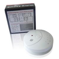 Battery Operated Smoke Detector EN14604 Fire Alarm Manufactures