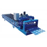 Industrial Aluminum Step Tile Roll Forming MachineWith Metal Slitter Machine Manufactures