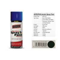 AEROPAK with MSDS and SGS certificate grass green color acrylic Spray Paint Manufactures
