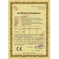 Dongguan Zhisheng Purification Technology Co., Ltd. Certifications