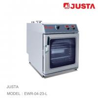 JUSTA Electric Pizza Oven 4 Tray Combi Steamer Digital Control System Manufactures